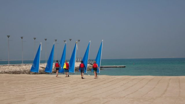 Sailing school qatar