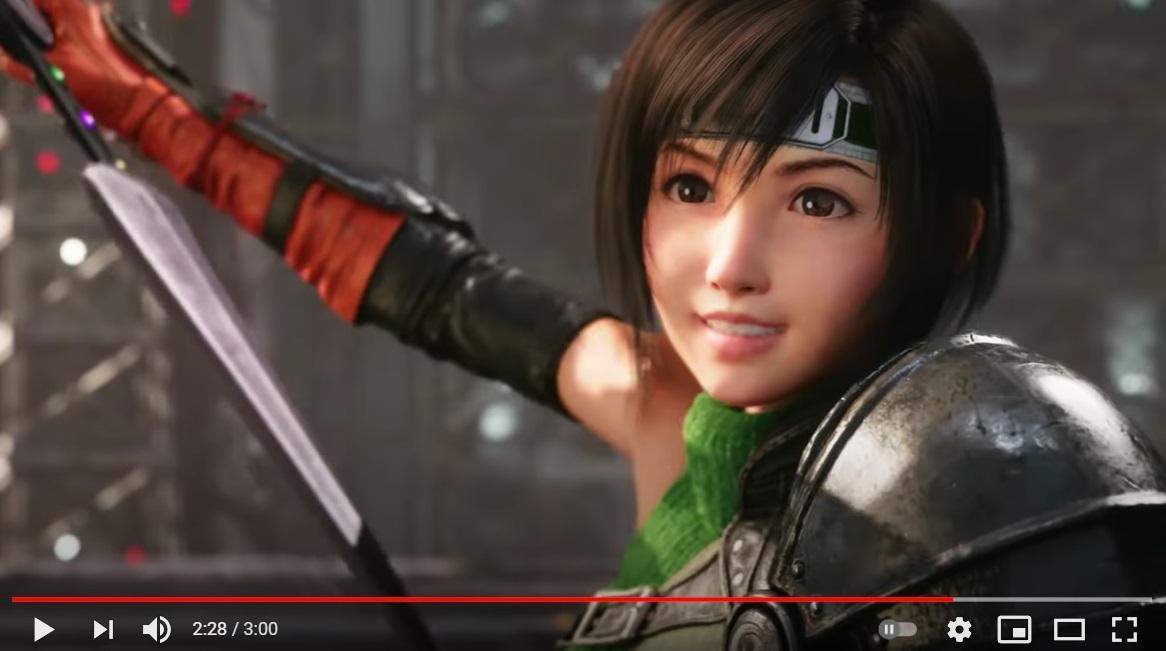 New Final Fantasy VII Remake version coming, brings ninja girl Yuffie to Midgar【Video】