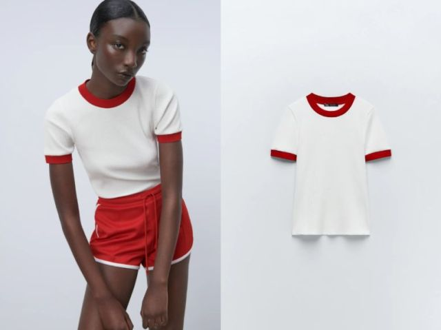 Zara creates loungewear that looks like a Japanese school P.E. uniform
