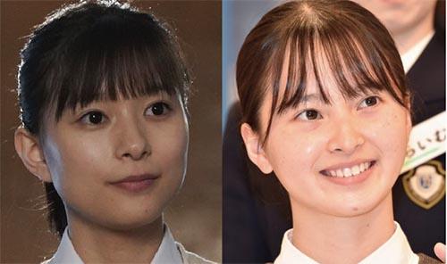 飯沼愛と芳根京子の比較画像02