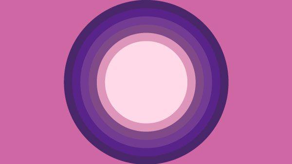 円・日の丸構図