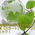 24時間テレビの浅田真央の衣装(スカート)のブランドをチェック!