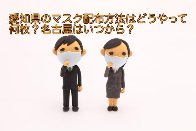 マスク配布 愛知県