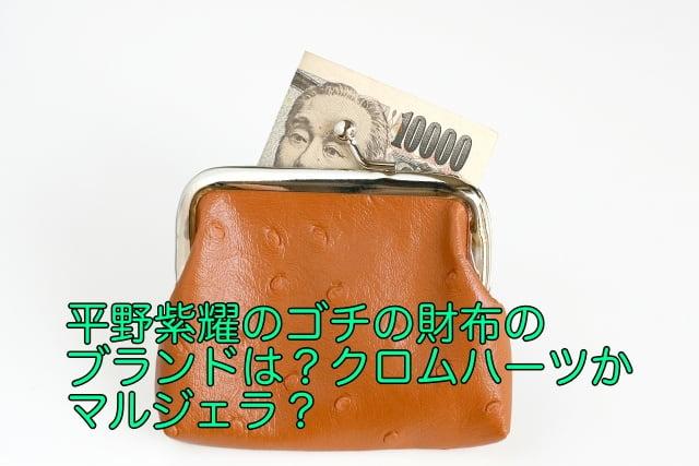 平野紫耀 ゴチ 財布