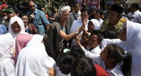 Statement by IMF Managing Director Christine Lagarde on her Visit to Lombok, Indonesia [October 8, 2018]