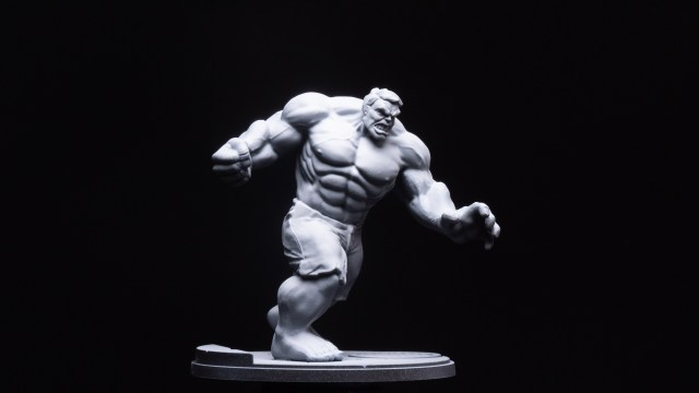 Hulk with Zenithal Highlights (2 of 3)