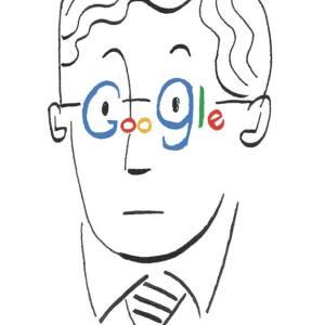 googleとbrainstormのイラストレーション