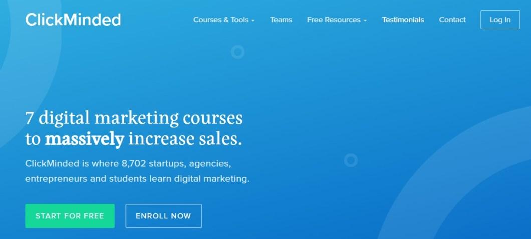 ClickMinded Online Digital Marketing Course