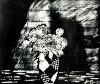 'Untitled ll' ink on paper, 19 by 15 inches, 2010 (sold)