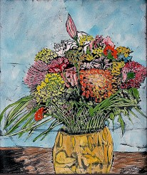 'Untitled still life' watercolour on paper, 19 by 15 inches, 2010 (sold)