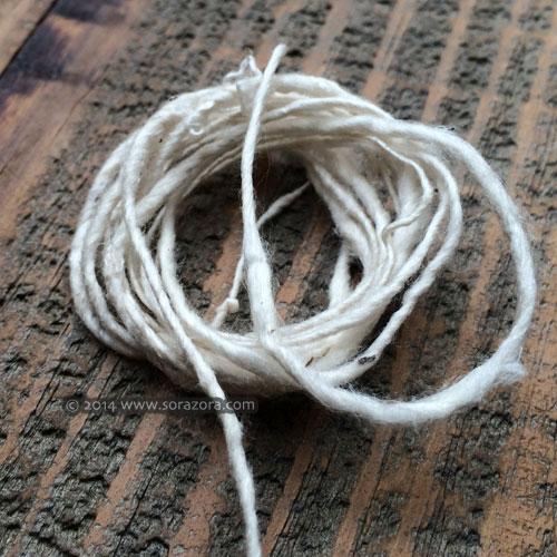 Handspun Silk Yarn