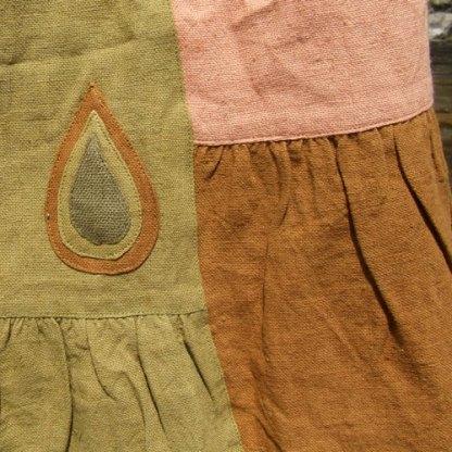 Apricot Long Skirt