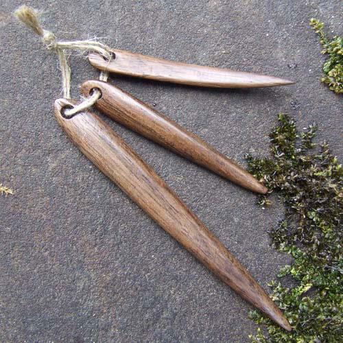 Wooden Needle Set