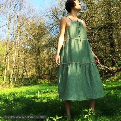 Arboreal Long Dress