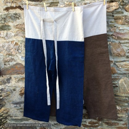 Natural Dye Hempy Thai Pants.
