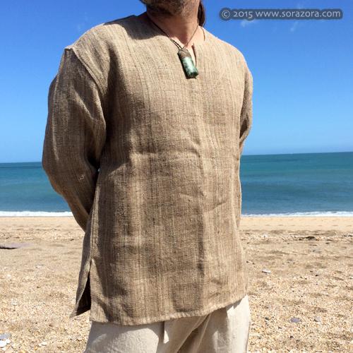 Himalayan Nettle Kurta Shirt