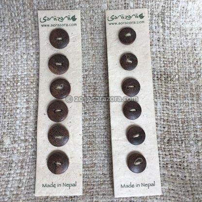 Saz Wood Buttons