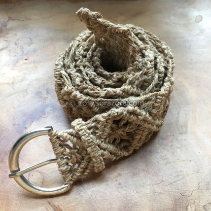 Flower Knotted Belt