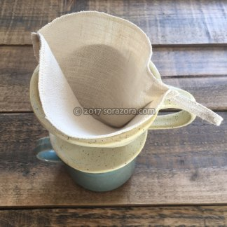 Ceramic & Hemp Coffee Filter