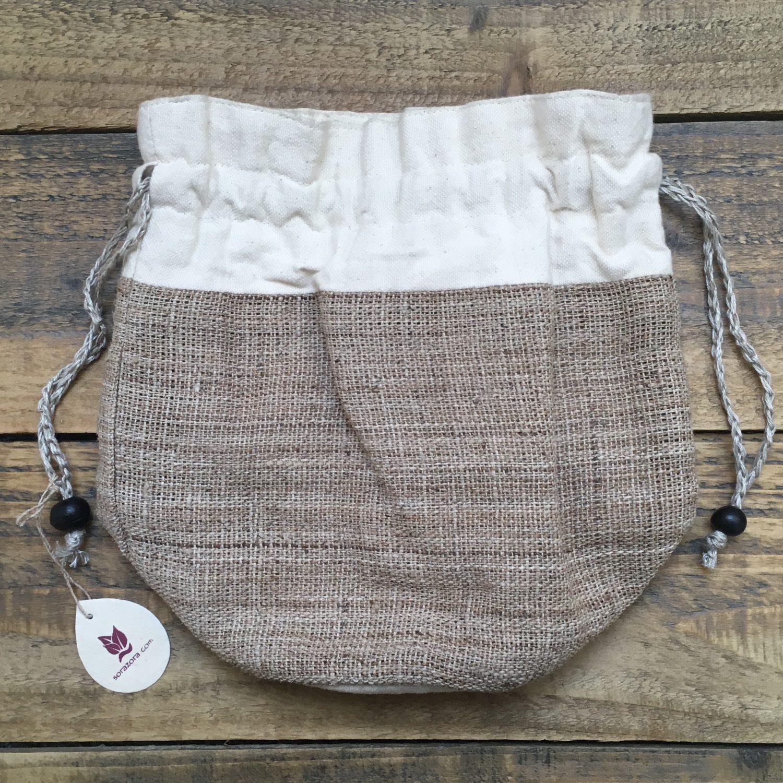 Nettle Drawstring Pouch