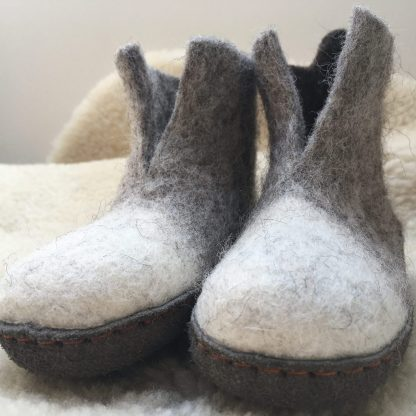 Kids' Felt Slippers