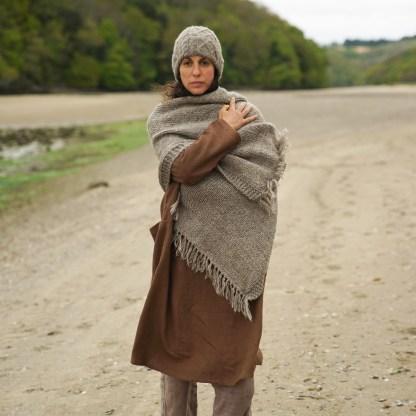 Chunky Blanket Shawl