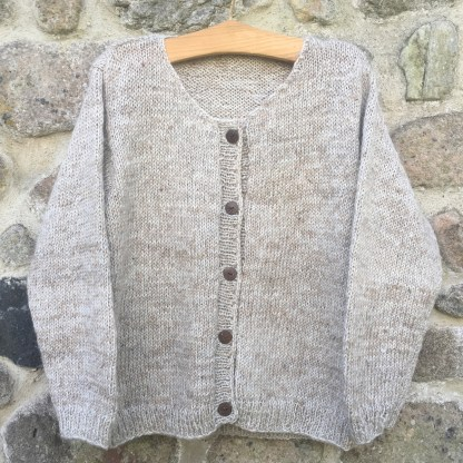 Nettle Wool Cardigan