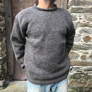 Hand Knit Wool Jumper