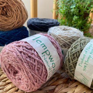 Hemp Wool Yarn