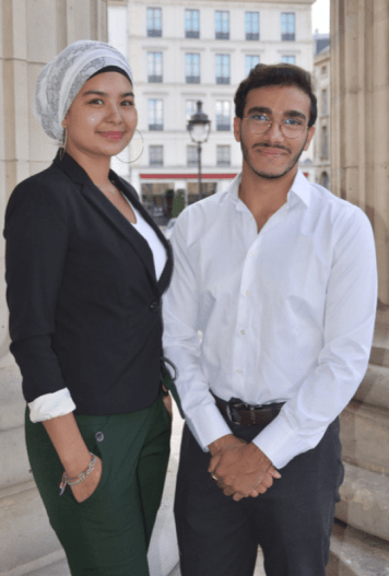 Trésorière & trésorier - Hattoun SHAHEEN & Ahmed BEN HAFSIA