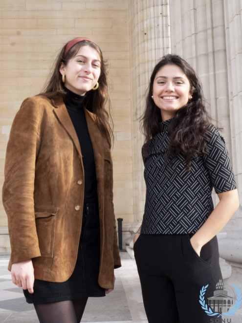 UNESCO - Sana TEKAÏA et Angélique BANTIKOS