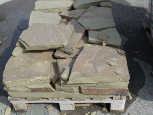 камень для подпорных стен - плитняк 6-8 см
