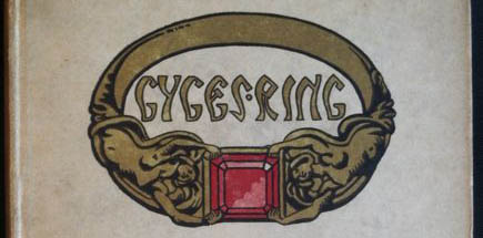 The ring of Gyges from an edition of Plato's Republic