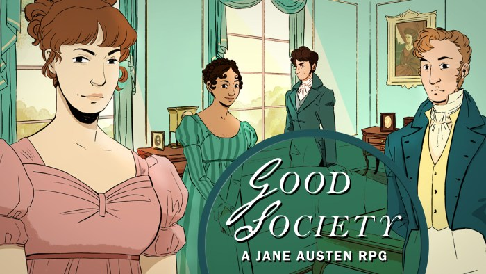 Good Society A Jane Austen RPG