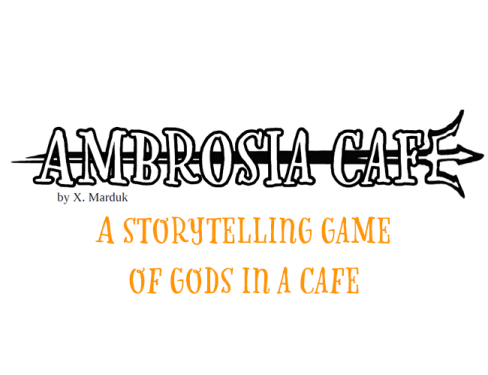 Ambrosia Cafe is a queer game about gods hanging out for coffee at their favourite cafe.