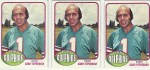 Cyprus native Garo Yepremian, long time Miami Dolphin; voted as kicker of the NFL 1970s All-Decade team.