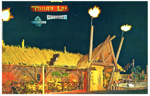 Postcard of the Tonga Lei.