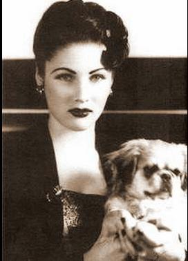 The glamorous Princess Fawzia