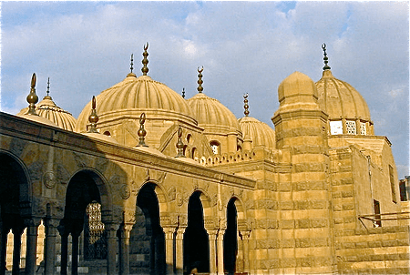 Mameluke architecture in Cairo.