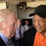 Mays and Scully, who called Willie his favorite player, reminiscing once again this weekend in San Francisco