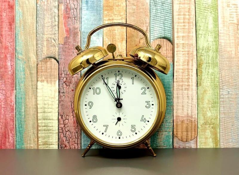 Old Bell Alarm Clock