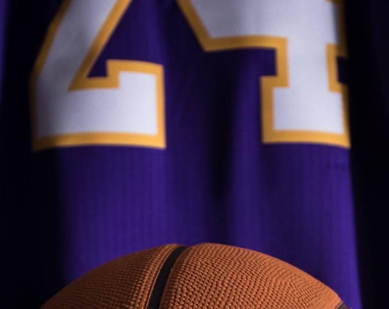 Kobe Jersey and Ball