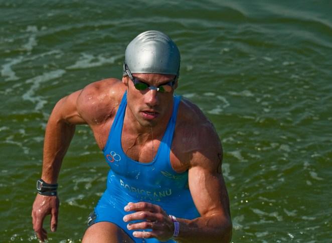 triathlon world champion - sorin boriceanu