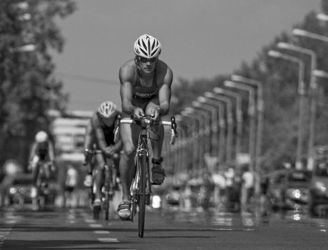 riding my merida bike at triathlon national championship 2011