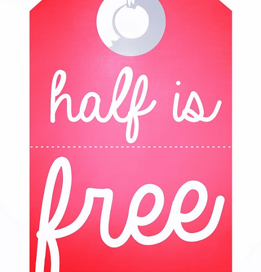 Half is free! In Constanta (Mamaia)