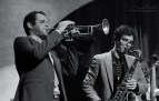 Jam night at Jazz at Lincoln Center Doha with Dominick Farinacci and Brian Carter Quartet