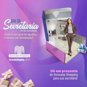 Sorocaba Shopping faz homenagem ao Dia da Secretária
