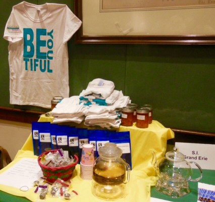Spring conference - sale table
