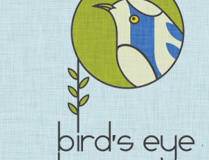 logo bird's eye tea