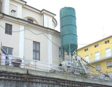 Utilizzo di palancole per edifici pubblici